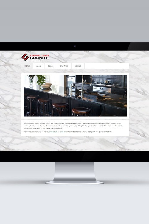 Central Coast Granite Website