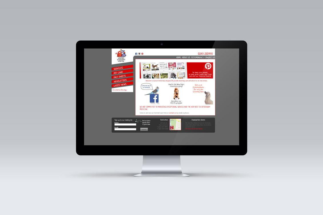 gosford-vet-website