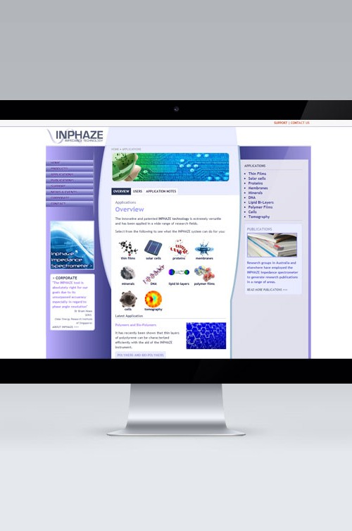 Inphaze Website